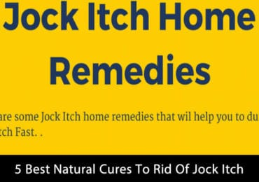 5 Best Natural Cures To Rid Of Jock Itch [Infographic]
